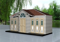 太阳能发电型环保移动厕所