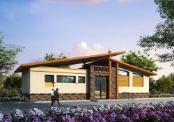 木建结构 环保厕所 景区厕所 大连浦项环保