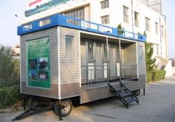日本版移动车载厕所